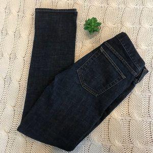 {J. Crew} Matchstick Jeans Sz 27R
